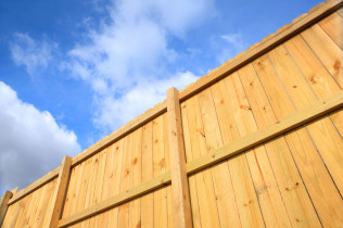 wood fence installation in Billings, MT
